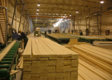 Swedish softwood lumber exports rise by 13% in September