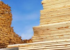Mixed lumber production output in North America