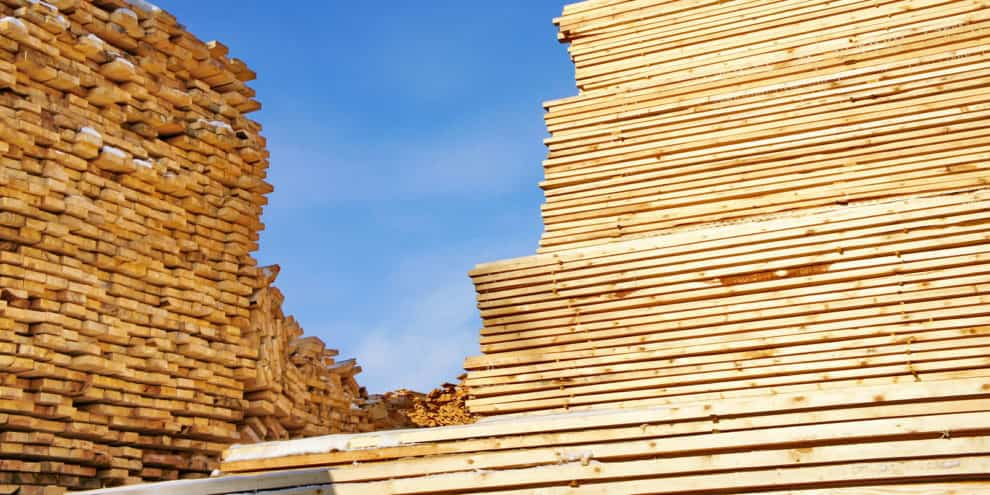 The US imported 71% more softwood lumber from EU countries