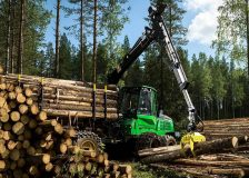 John Deere reports booming trend in worldwide sales of forestry and construction equipment