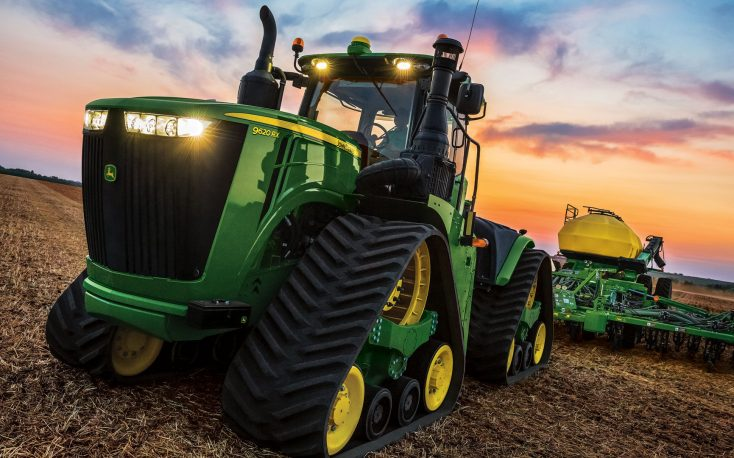 John Deere registers top high sales in construction and forestry segment