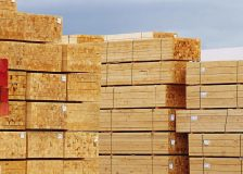 Softwood lumber exports from Europe to the US have doubled this year