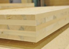 Global cross-laminated timber (CLT) production capacities in 2020