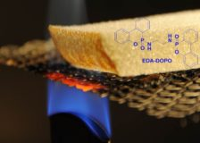 Wood-based materials to be protected from fire by new additive