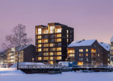 Tallest timber building in Sweden completed