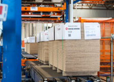 Swiss Krono finished production of its first MDF board in the new plant in Barnwel, USA