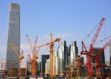 China's construction industry collapses in the first two months