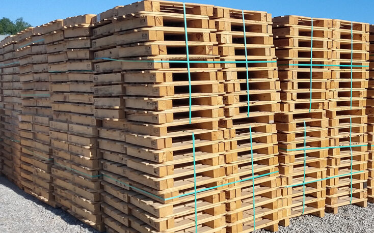 Global wooden pallet prices hit record highs