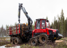 Komatsu plans to grow forestry machine sales in North America and ASEAN