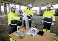 Foundation stone of Metsä Group's Kemi bioproduct mill laid