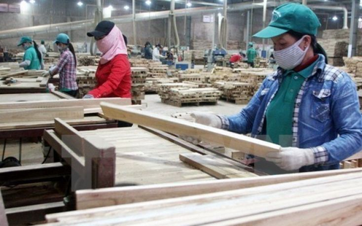 Vietnamese wood products exports stunning in the first half