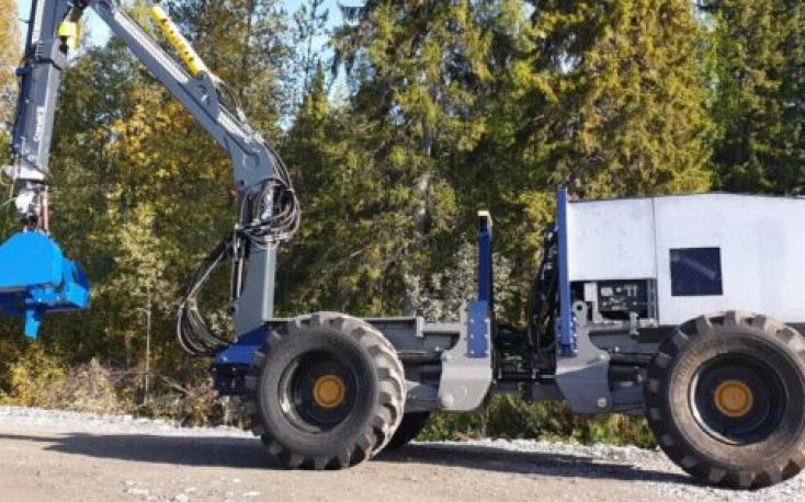 Sweden: Autonomous forest machine ready for testing in Sweden