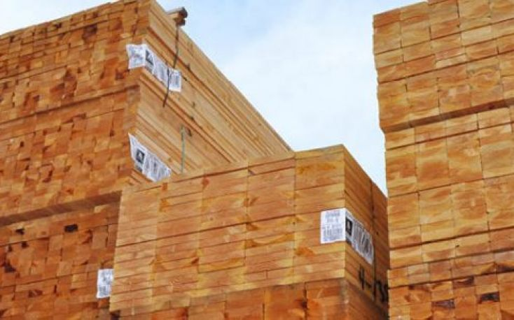 Chinese lumber imports on a downward trend