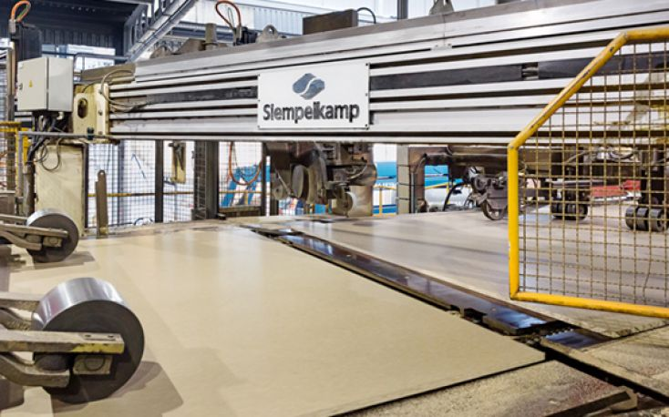 Siempelkamp delivers a new OSB plant in China