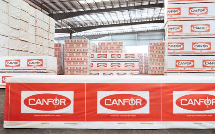 Canadian Canfor announces operations curtailment at three other mills in BC