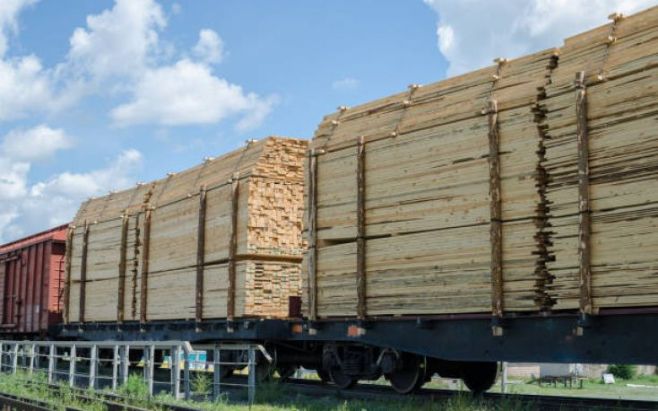 Booming exports of sawn timber from Belarus to China, via railway
