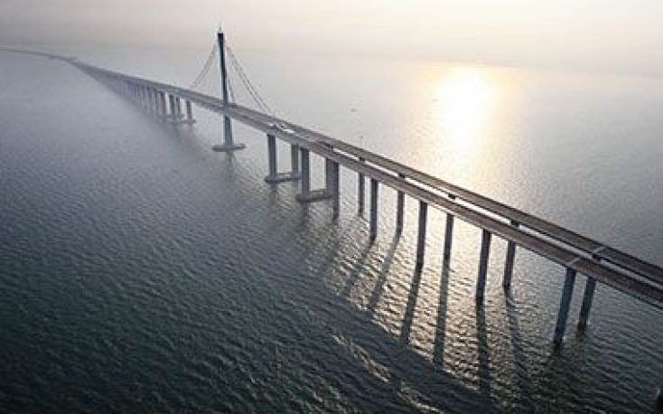 SCA and Martinsons bring Swedish pine to China, for the construction of the world's longest bridge