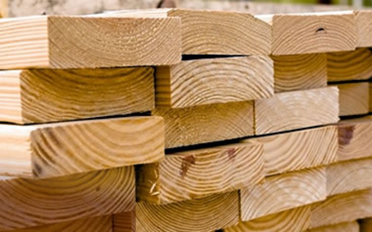 N. American softwood lumber prices correct downward significantly